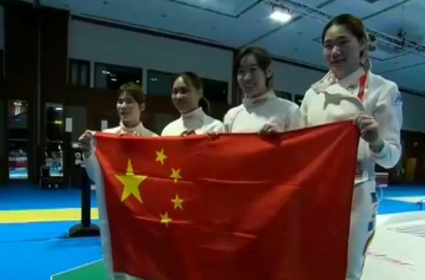中国金牌林声偷拍女子亚运福州重剑女生团姑娘勇夺迅雷下载图片