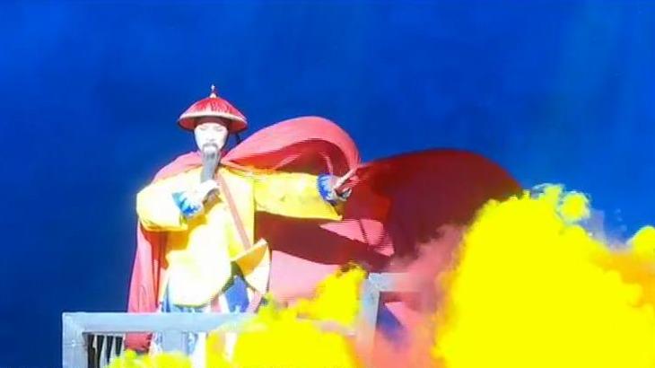 """""""茉莉花""""璀璨绽放 首场试演精彩纷呈 闽剧《林则徐与王鼎》亮相歌剧院图片"""