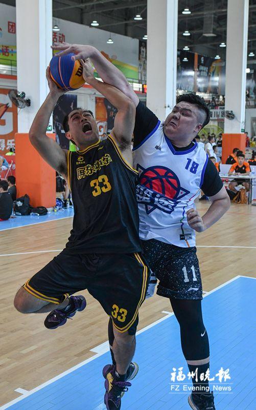 福州高中生挺进省三对三篮球联赛